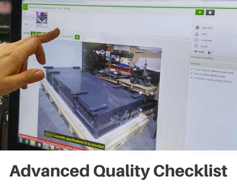 Advanced Quality Checklist