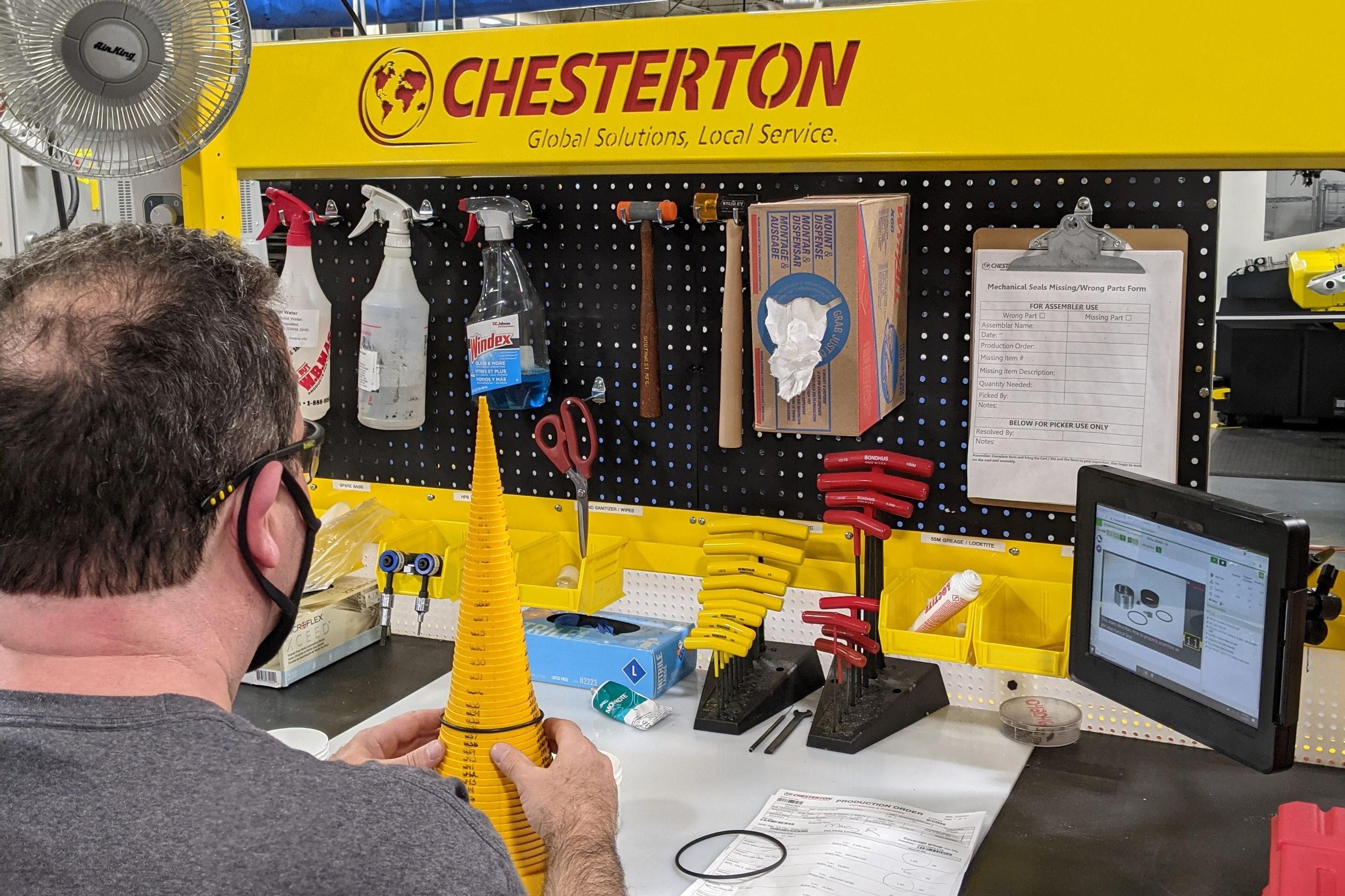 Chesterton Cuts Training Time in Half with VKS