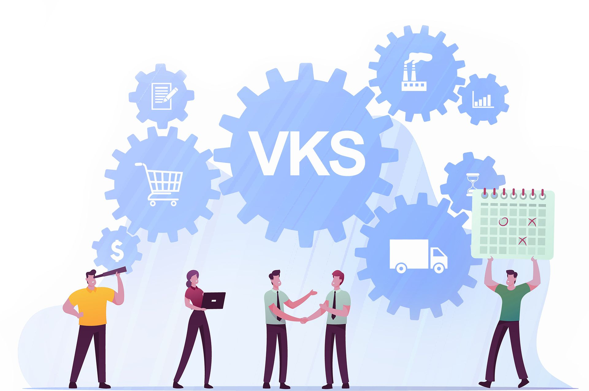 Benefits of continuous improvement with VKS